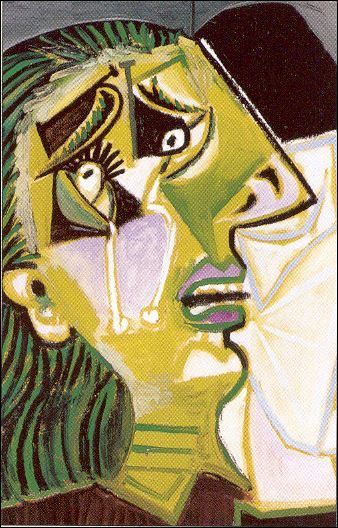 Pablo Picasso Weeping Woman 1937 Pablo Pikasso Portret