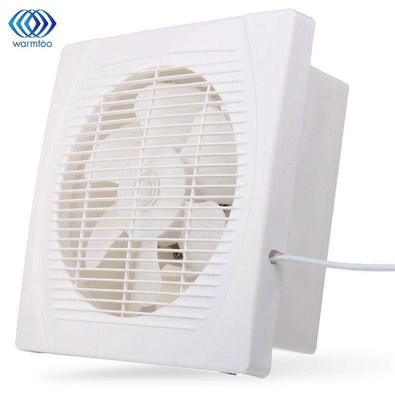 White 30W 8 inch Ventilation Extractor Exhaust Fan Blower Window