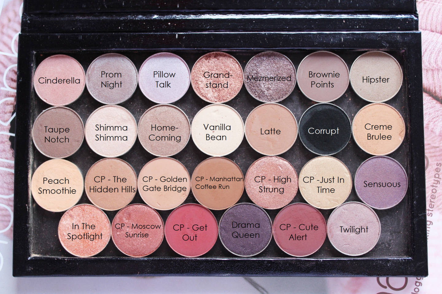 Creating my Perfect Palette with ColourPop, ZPalette