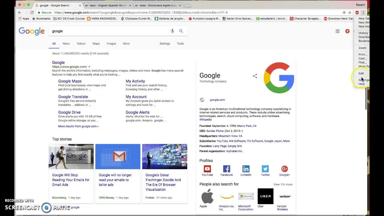 Create Shortcut For Wordreference On Chrome Search Engine Classroom Dr G