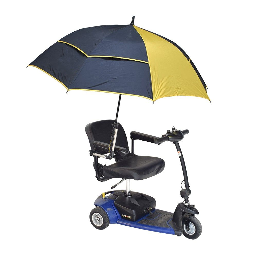Order The Universal Grip Umbrella Holder For Mobility Scooters Power Chairs Wheelchairs From Monster Scooter Pa Umbrella Holder Umbrella Powered Wheelchair