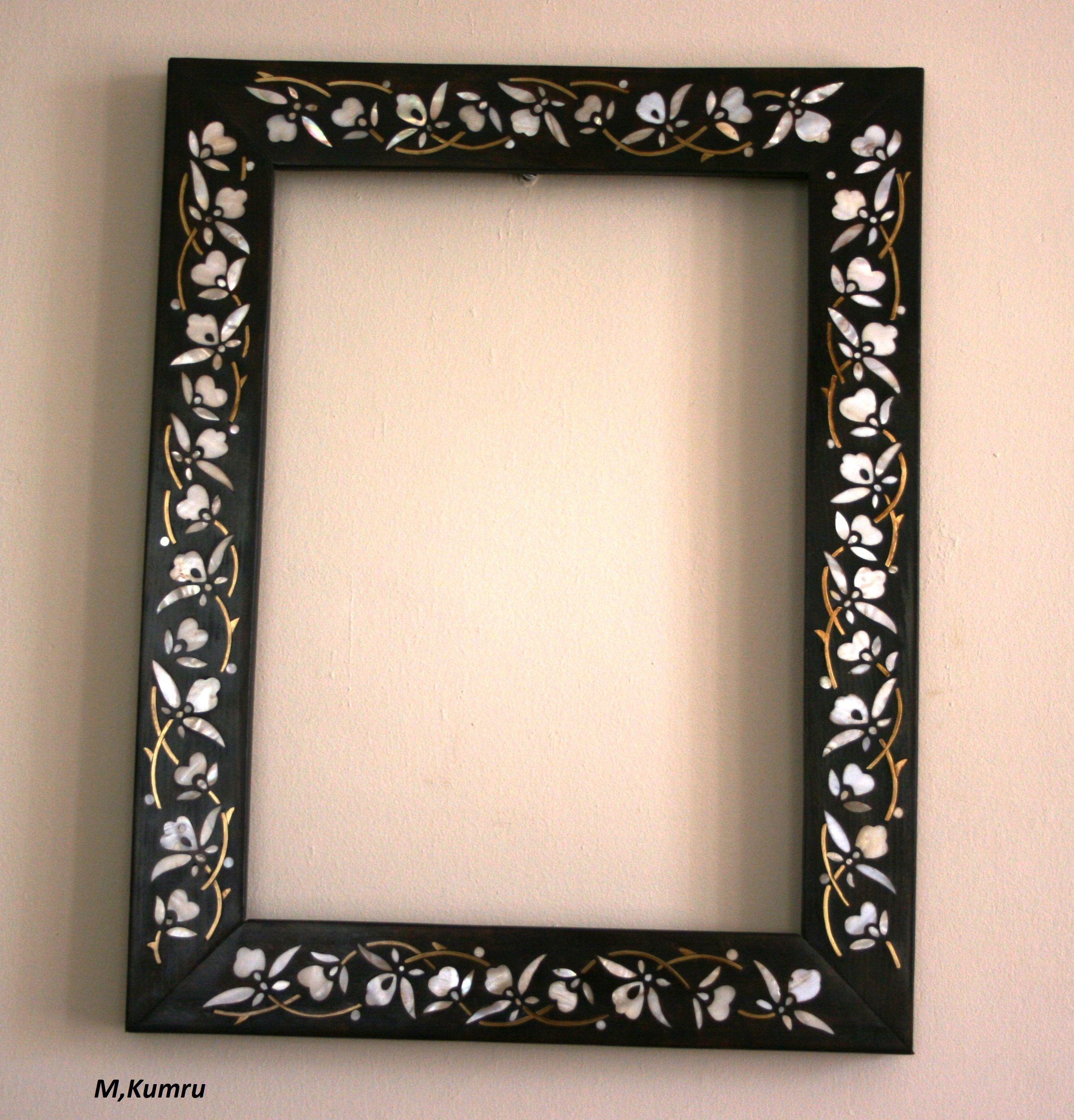 mother of pearl inlay mirror-sedef kakma ayna | Handmade | Pinterest ...