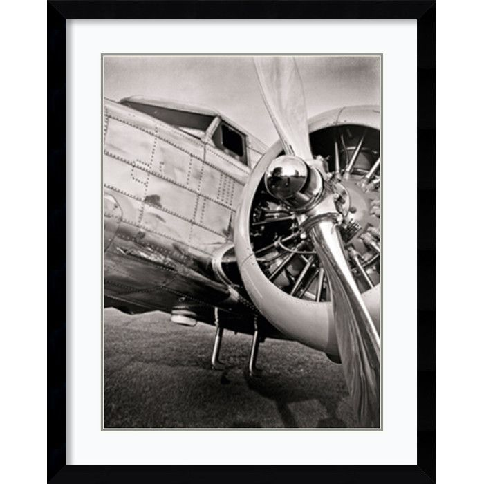Vintage Flight I by Janet Van Arsdale Photography Airplanes Print Poster 24x24