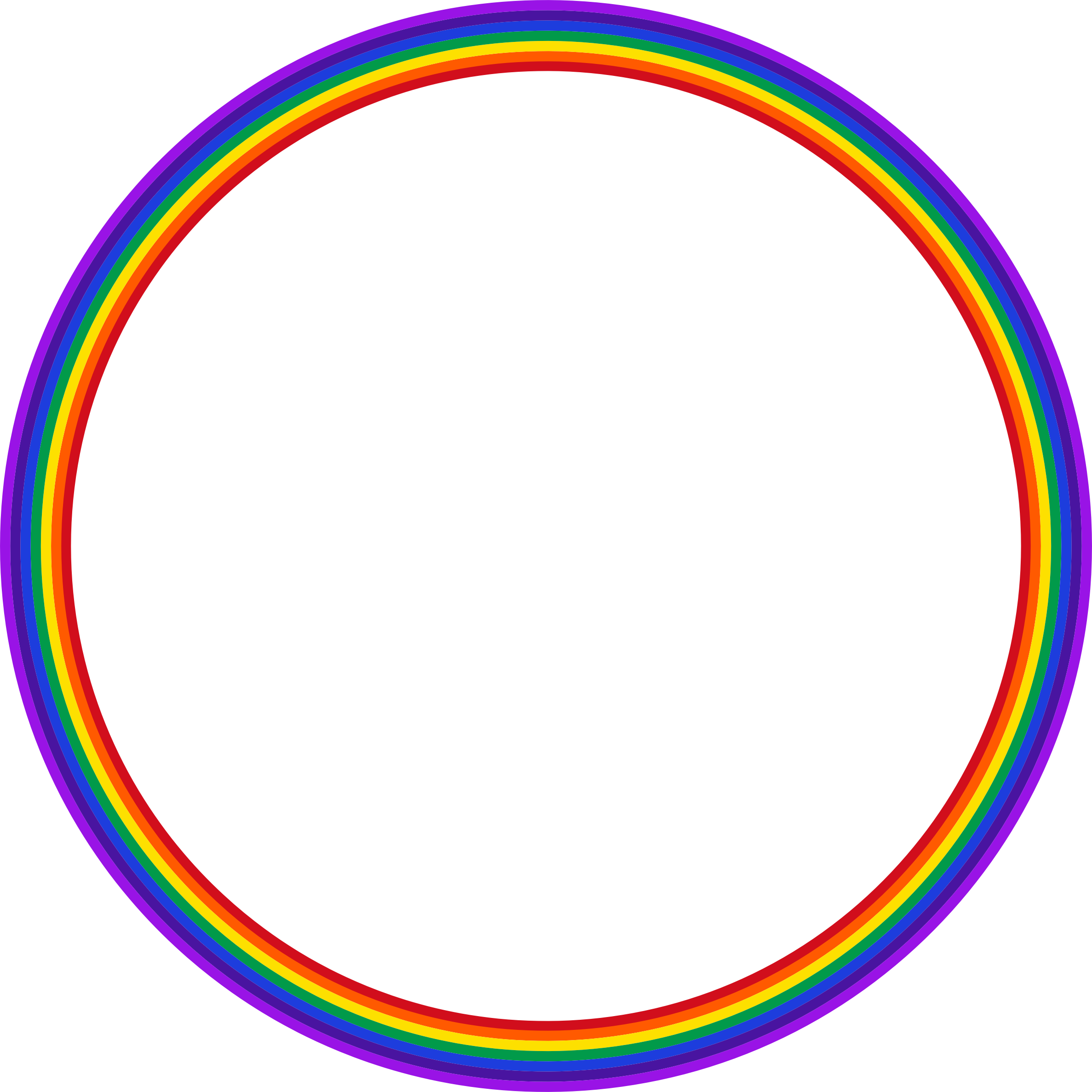 This Rainbow Circle Is A Good Example Of The Circle As A Symbol Suggesting Infinity Within The Field Of Graphic Design Circle Rainbow Graphic Design
