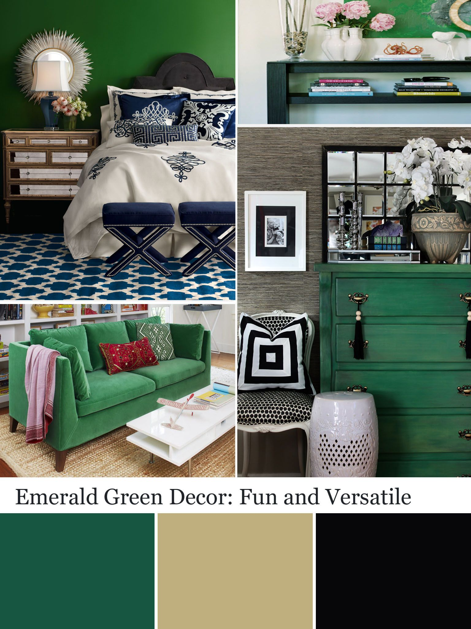 Decorating With Emerald Green Green Decorating Ideas Spare