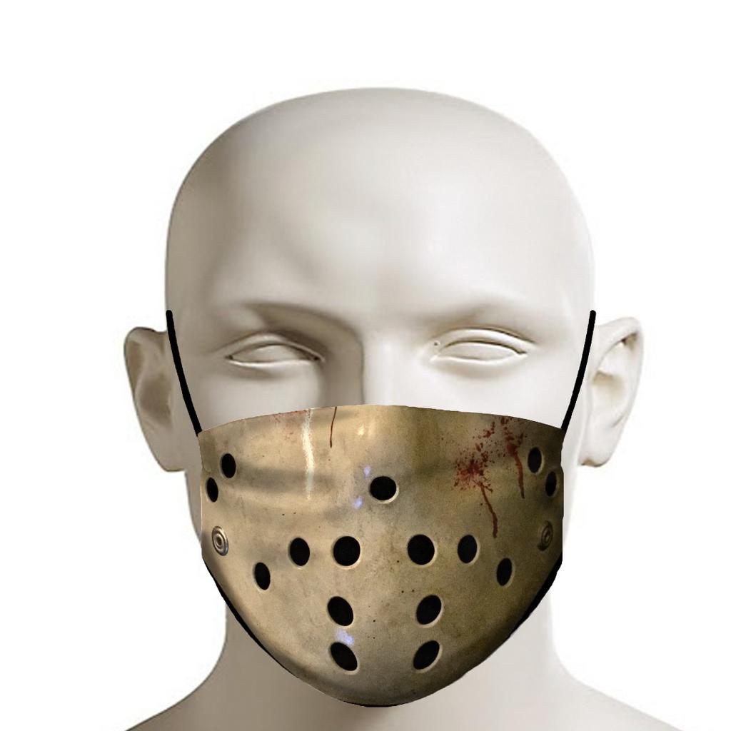Horror Hockey Mask Face Mask Dust Masks Mouth Mask In 2020 Hockey Mask Mask Face Mask