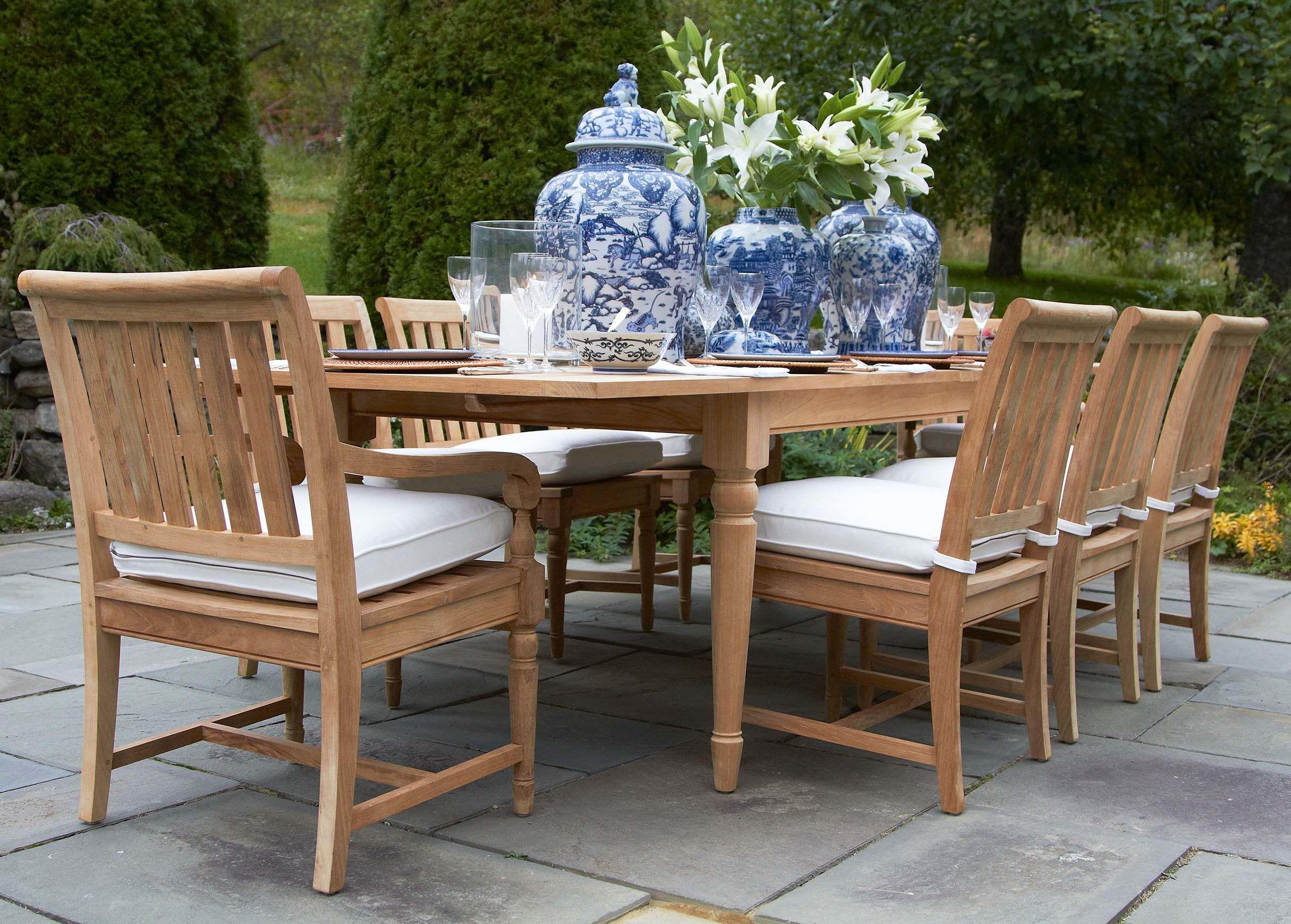 one part english garden one part west indies lanai our millbrook rh pinterest com ethan allen patio chairs ethan allen outdoor furniture reviews