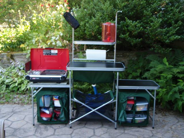 Cabela S Camp Kitchen And How To Make The Sink More Functional Camp Kitchen Camping Necessities Camping Equipment