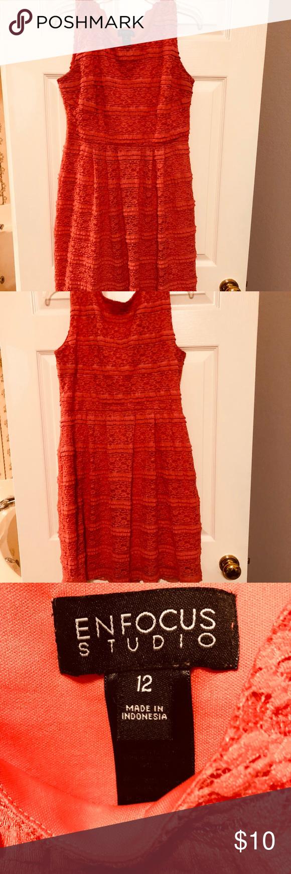 Enfocus studio coral summer dress size cute by also pinterest rh co