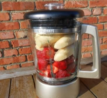Onwijs Lekkere gezonde Blender-ijsjes maken!   Bevroren banaan, Gezond PI-41