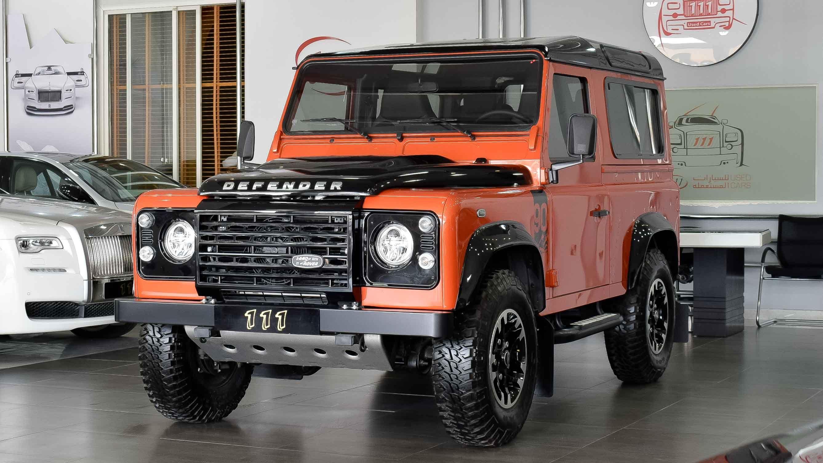 Model Land Rover Defender Gcc Specs Year 2016 Km 0 Price Uae