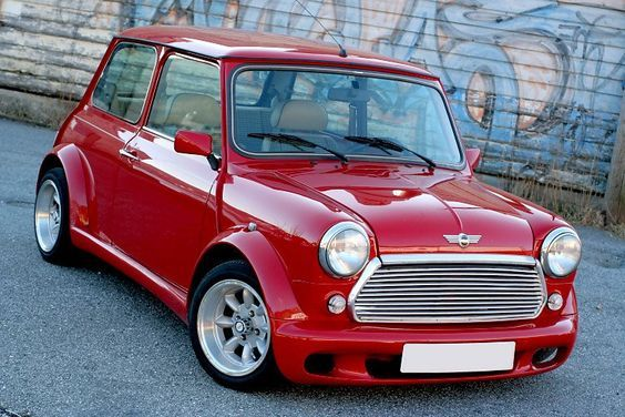 Classic Mini Cooper With Zeemax Body Kit Mini Cooper Old Mini