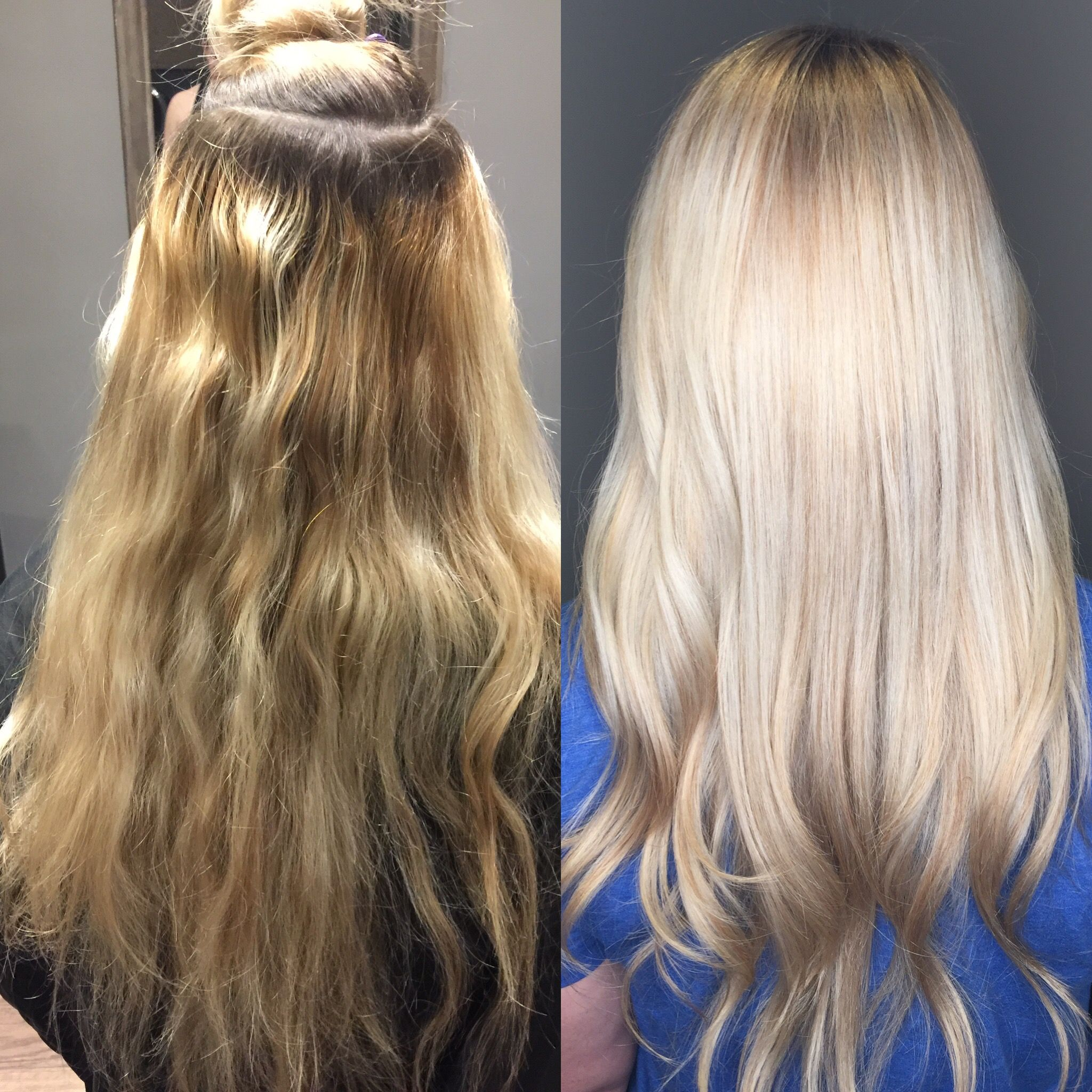 Blonde Upgrade Heavy Highlighted Hair Redken Color Platinum