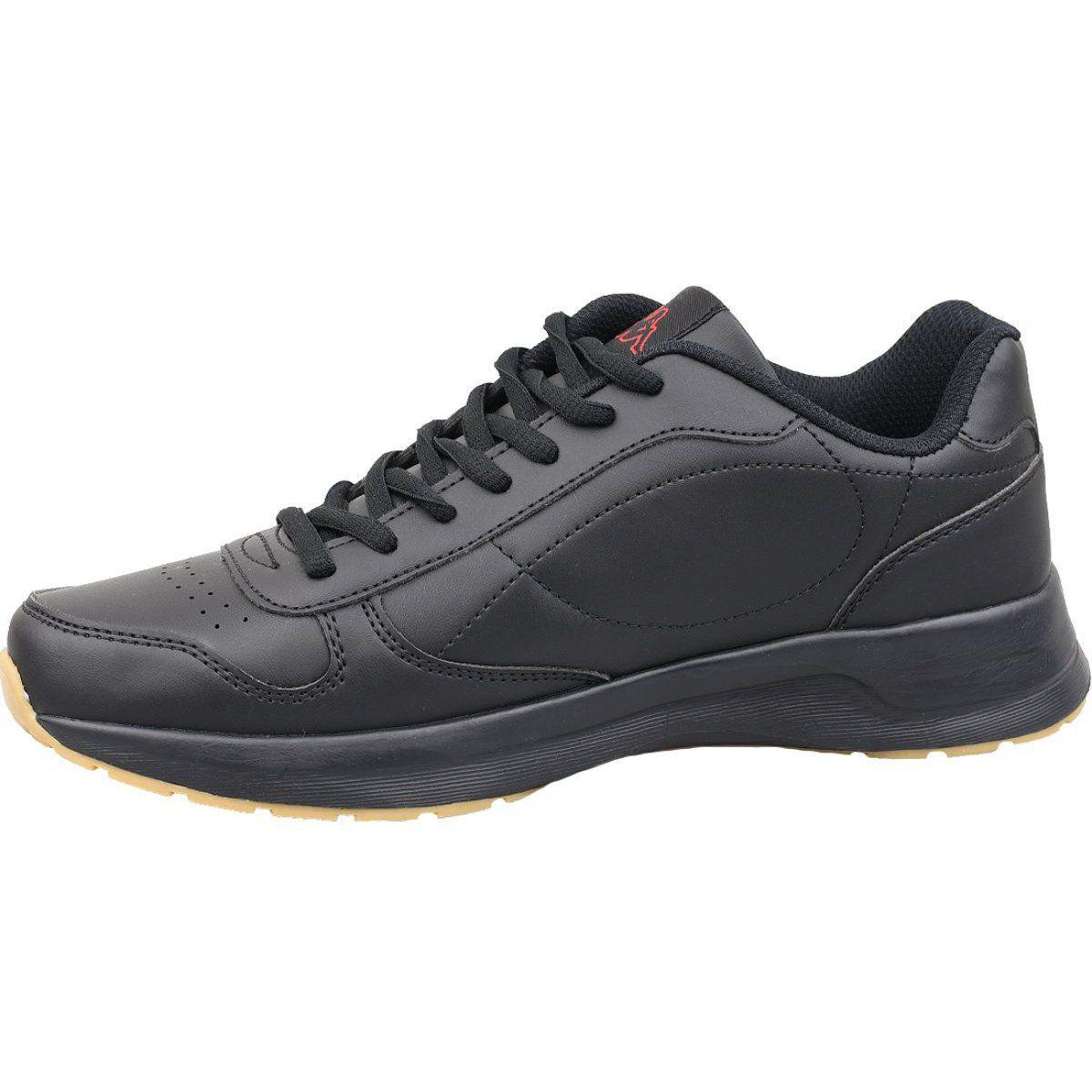 Buty Kappa Base Ii M 242492 1111 Czarne Shoes All Black Sneakers Black