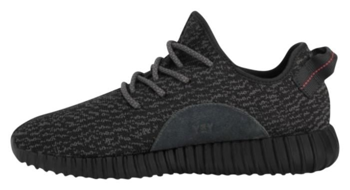 Adidas X Yeezy Boost 350 Black Athletic Shoes. Get the must-have athletic  shoes