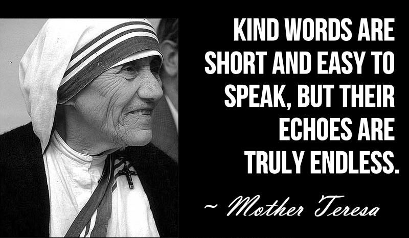 Kind Words Are Short And