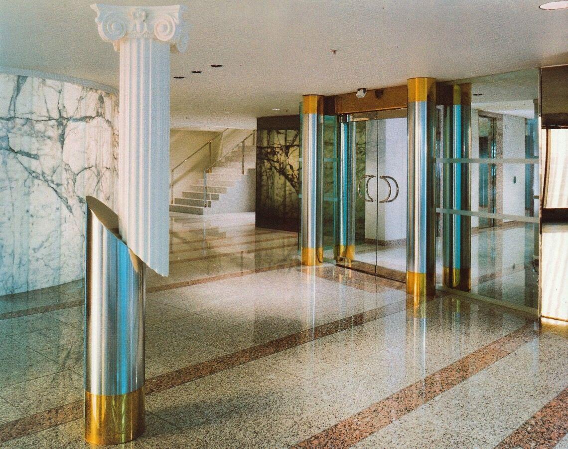 Banca Nazionale Del Lavoro (BNL) of Canada, Toronto, Canada, 1989, Scolozzi & Watt Architects. http://thetriumphofpostmodernism.tumblr.com Photo & info via Jason Cawood