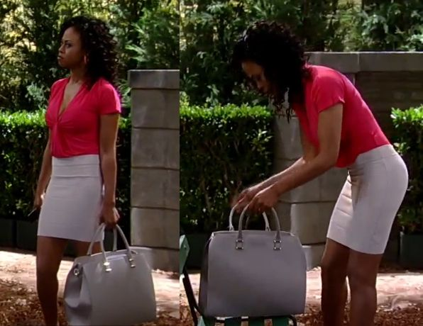f76f0639835910 I m a Soap Fan  Jordan Ashford s Grey Handbag - General Hospital ...