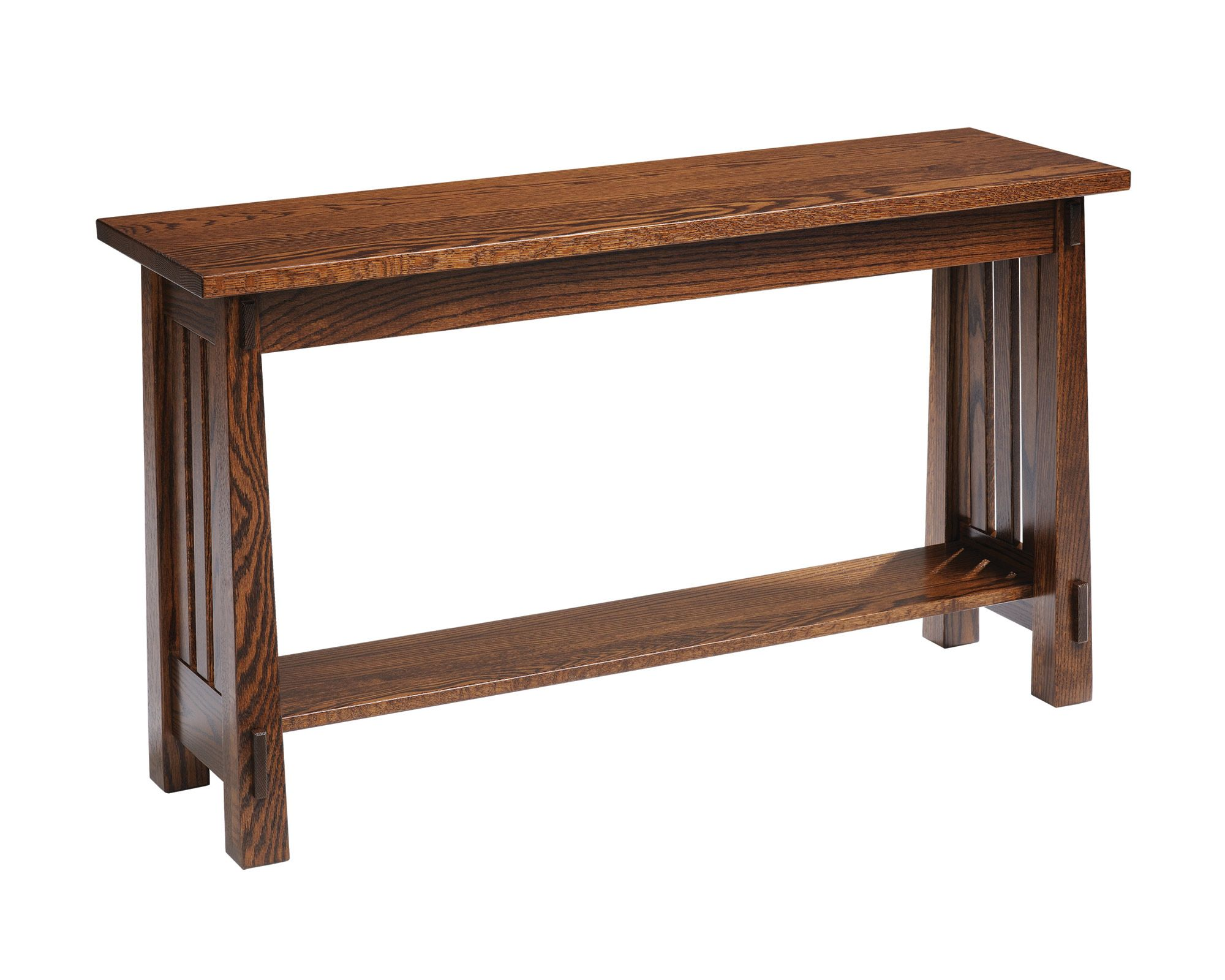 Country Mission Oak Sofa Table Amish Furniture Solid Wood Mission Shaker Furniture Chicago Area Illinois Furniture I Like Amish Furniture Country S