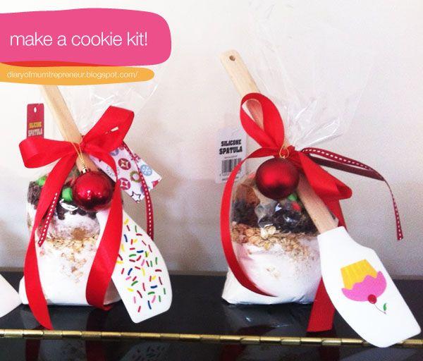 diy cookie kit for christmas :)