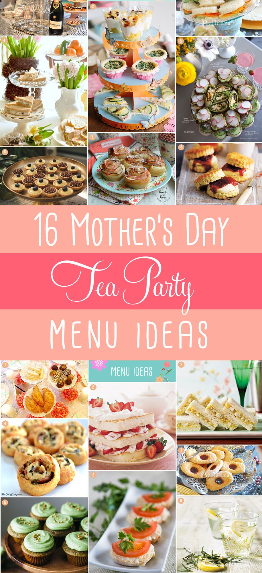 Simple Mother\'s Day Tea Party Food | MOTHER\'S DAY BRUNCH IDEAS ...