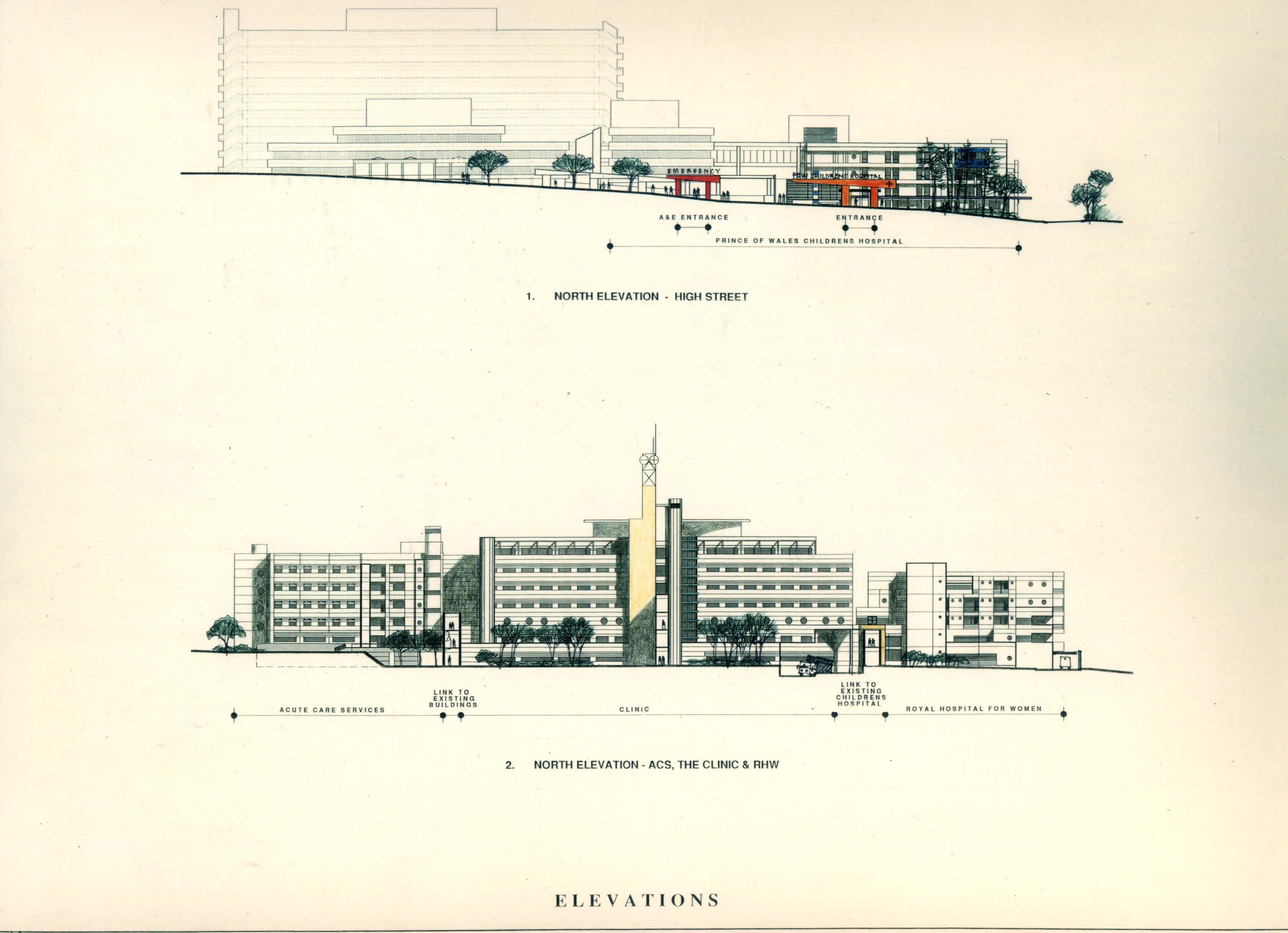 Prince of Wales Hospital, 1998 Prince of wales, Hospital