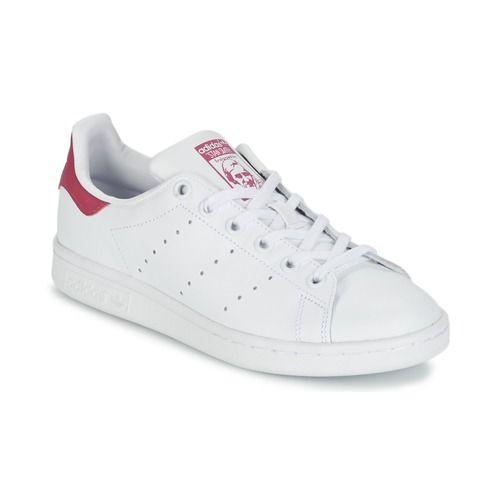 979a4e7a2d adidas Originals STAN SMITH J άσπρο - Δωρεάν Αποστολή στο Spartoo.gr ! -  Παπούτσια Χαμηλά Sneakers Child 67