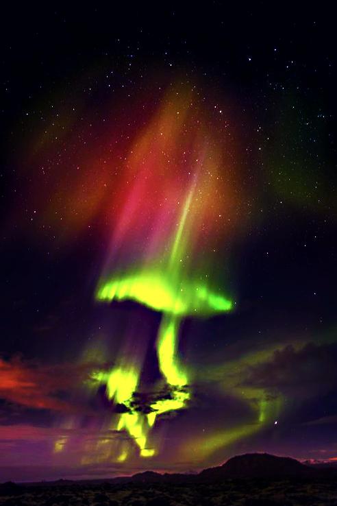 Aurora Borealis, Iceland | Astronomy | Pinterest | Sun ...