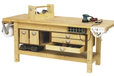 Basic Workbench and 6 ways to beef it up Downloadable Plan | WOOD Magazine