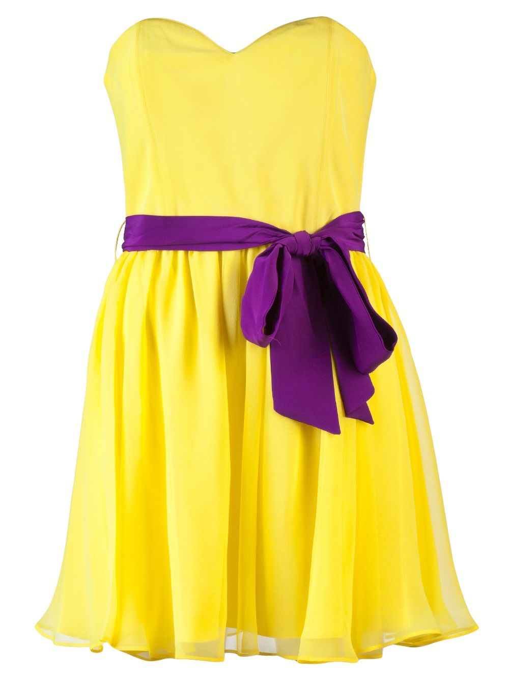 Pin By Agabelle On My Style Yellow Strapless Dress Dresses Clothes Design [ 1334 x 1000 Pixel ]