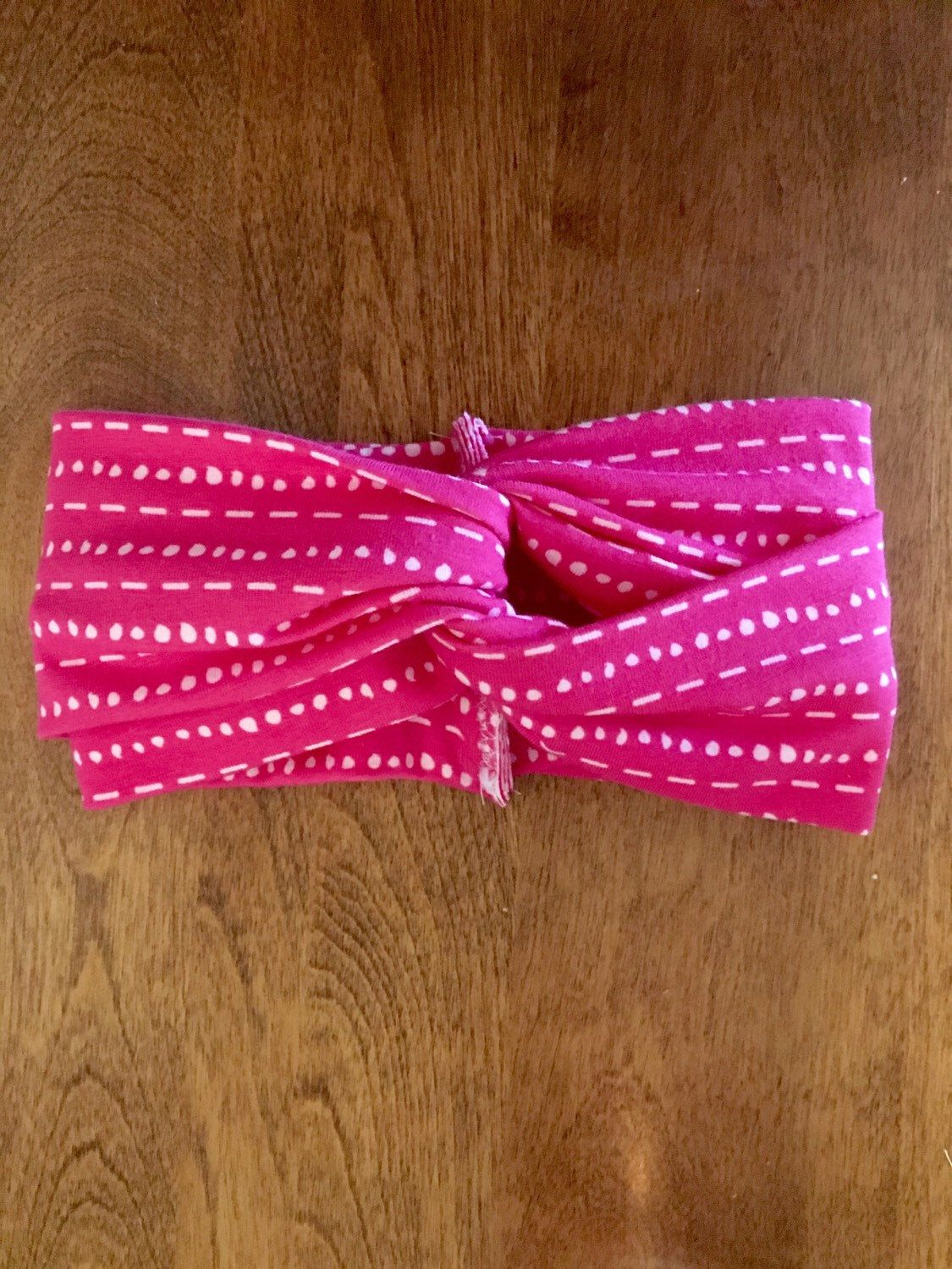 Pink Baby Turban Headband, twisted baby headband, toddler, by HaidlesBoutique on Etsy https://www.etsy.com/listing/263422286/pink-baby-turban-headband-twisted-baby