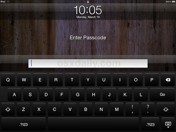 Secure An Ipad Or Iphone With A Stronger Passcode The Default Passcode For Ipad And Iphone Uses A Fairly Simple Four Digit Numerical Pass Iphone Ipad Keyboard
