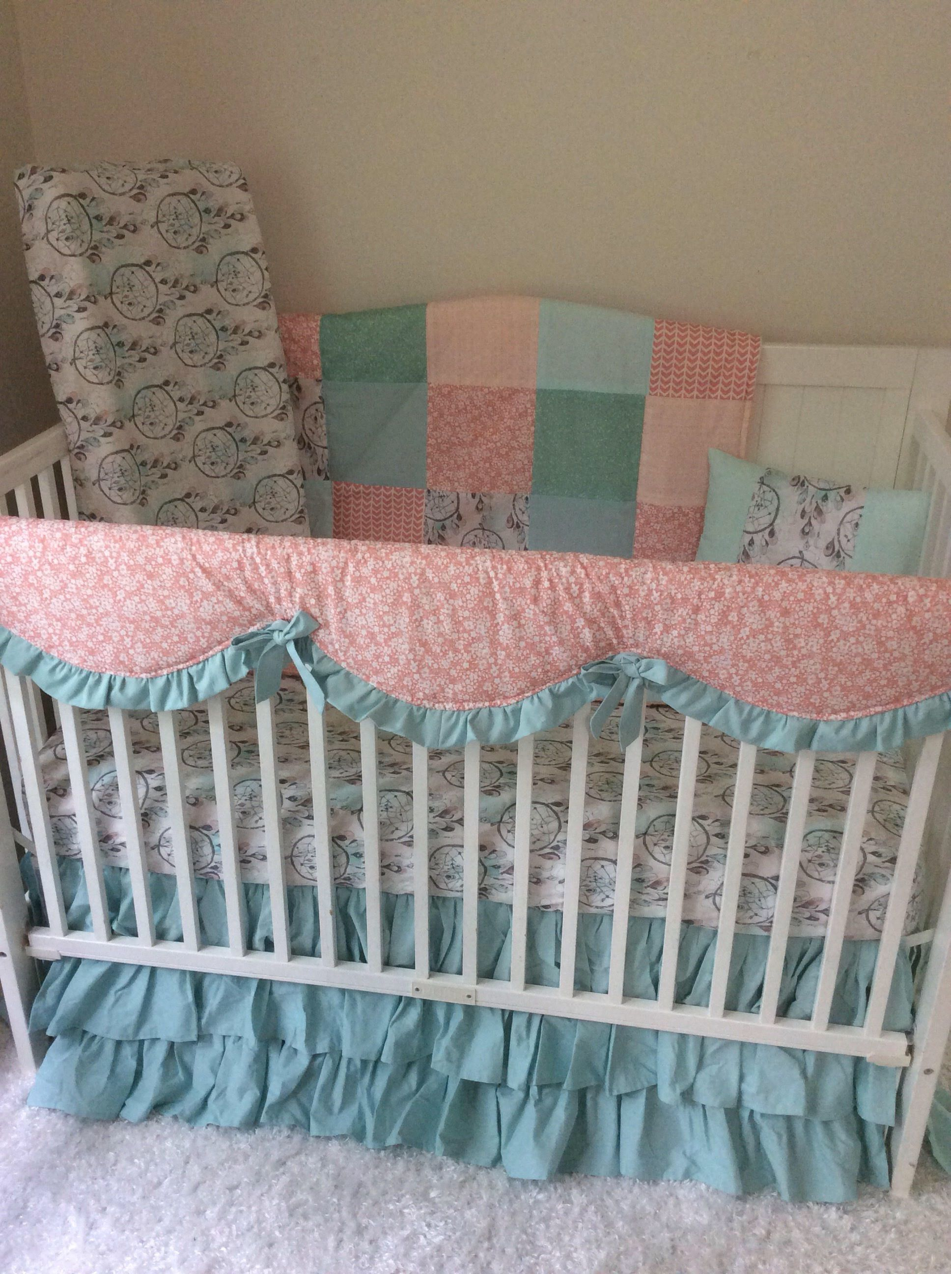 Dream Catcher Crib Bedding Cool A Personal Favorite From My Etsy Shop Httpswwwetsylisting Decorating Inspiration