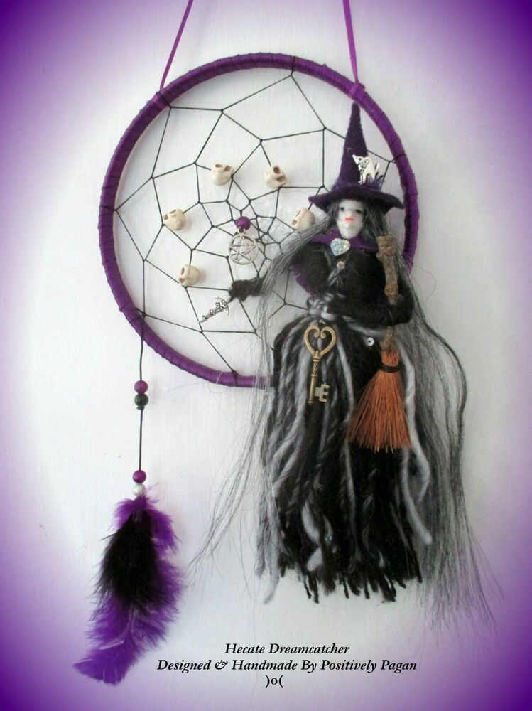 Dream Catcher Moon With Black Tourmaline Moon Protection