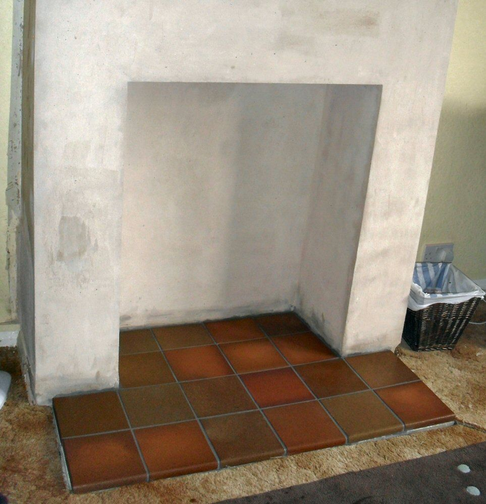 Tile Hearth: Pin By Stephanie Coombes On Fireplace