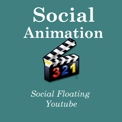 Social Animation - Floating Youtube - http://videogalleria.net/downloads/social-animation-floating-youtube/