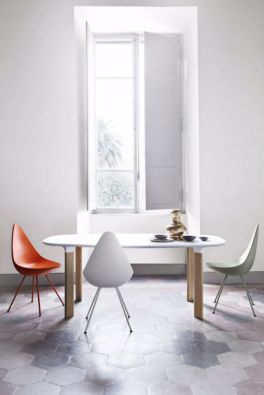 Analog Table Designed By Jaime Hayon Manufactured By Fritz Hansen