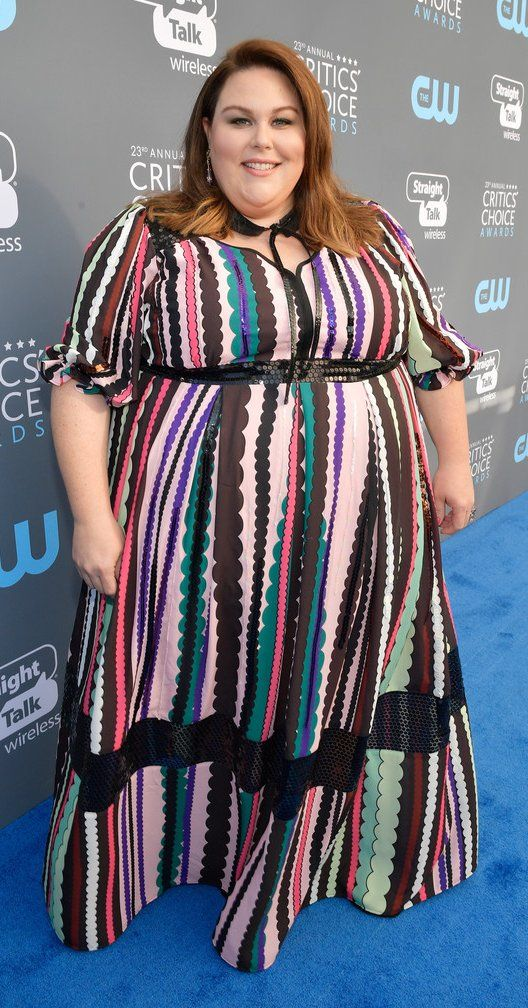 66a5268609a Chrissy Metz in Eloquii attends The 23rd Annual Critics  Choice Awards.   bestdressed