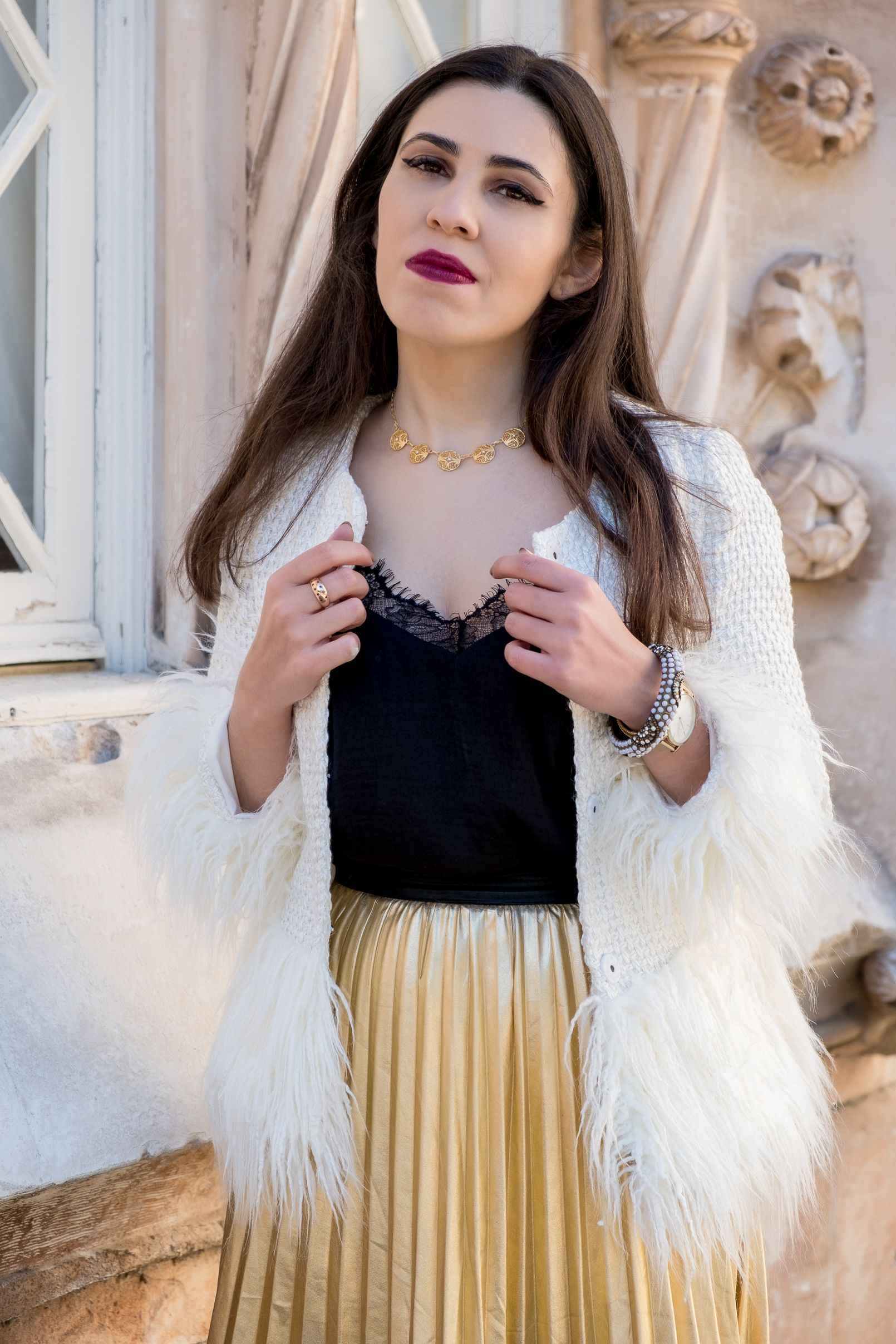 31369ba697 What to wear on christmas? - #accesorize #black #bracelet #Chic #