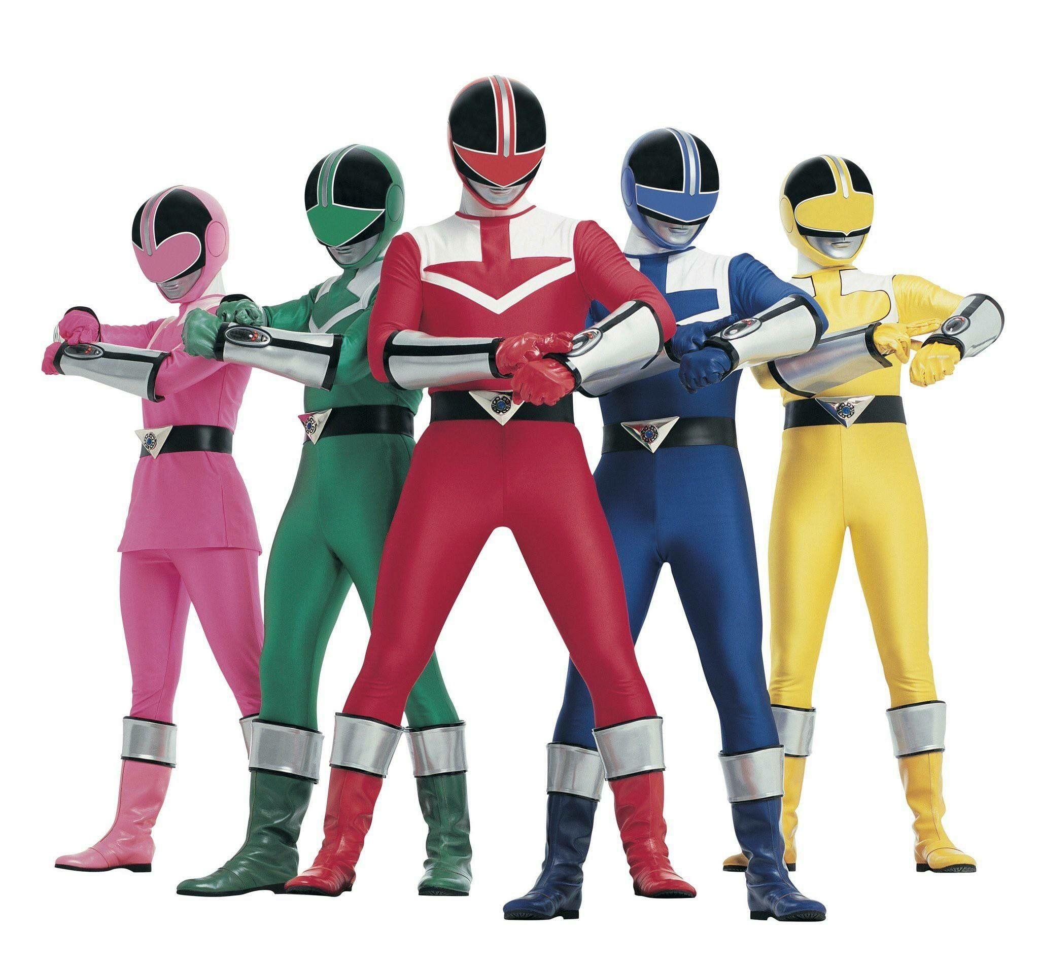 Time Force Rangers Samurai Go