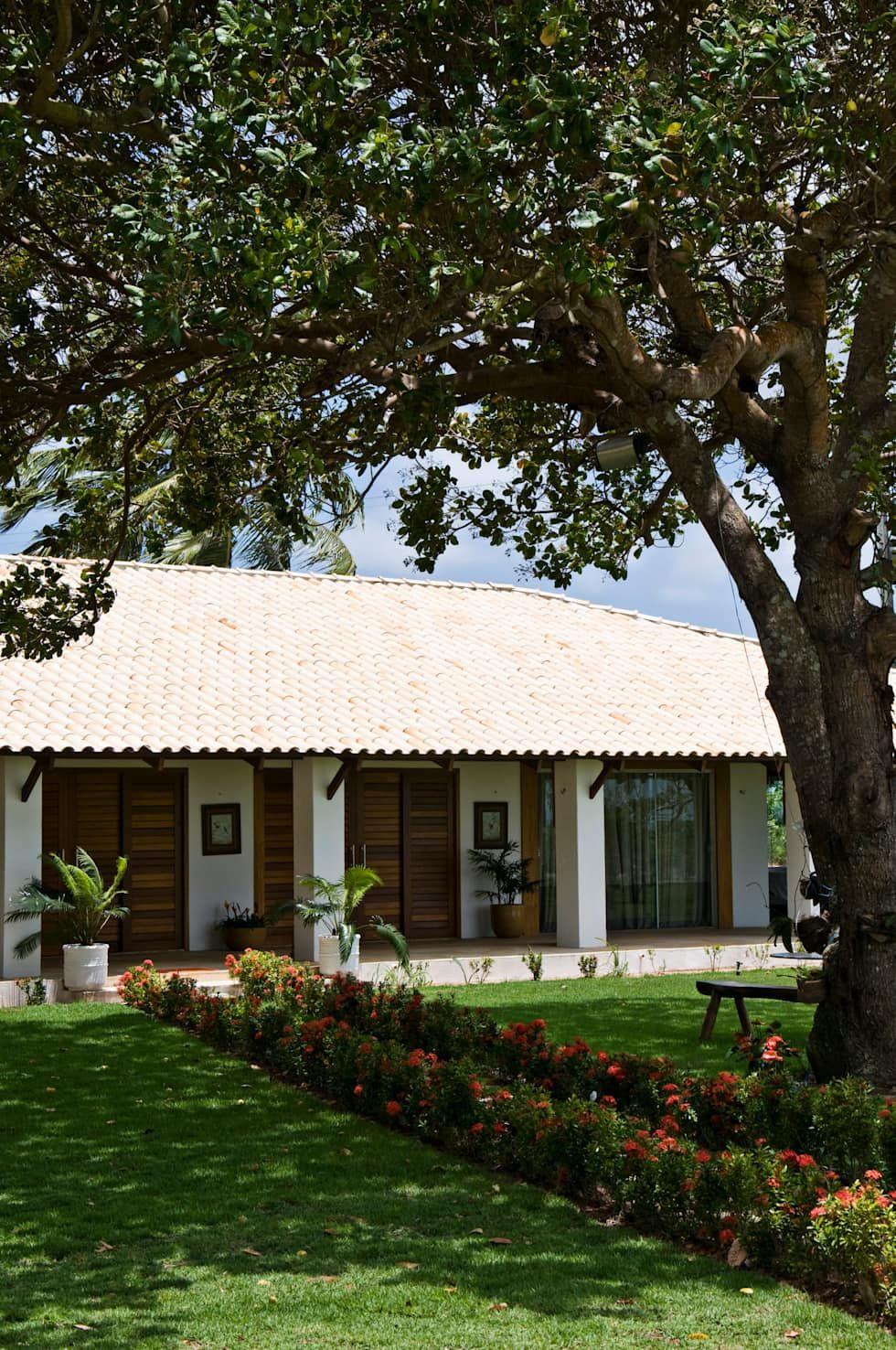 Terrazas De Estilo Por Renato Teles Arquitetura Casas De