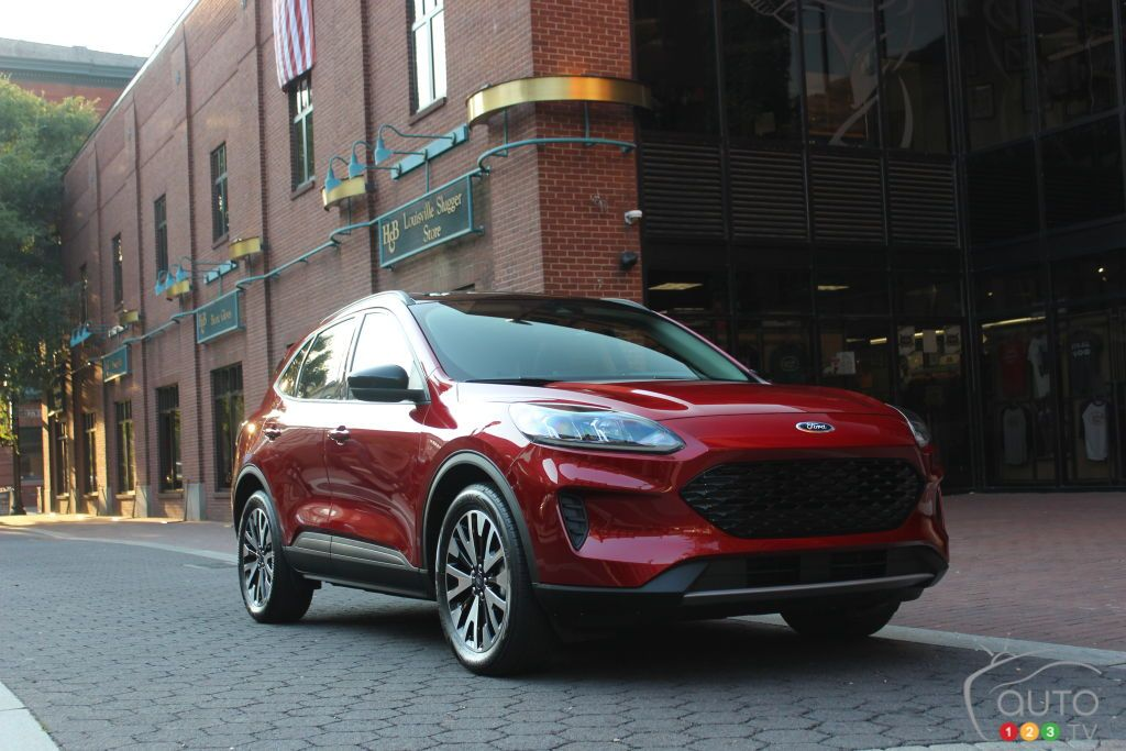 2020 Ford Escape First Drive Ford escape, Car, Car review