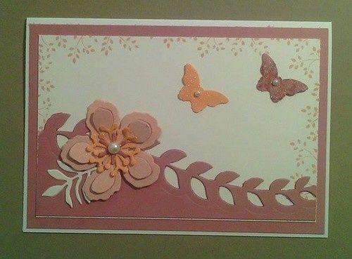des cartes pour femmes cartes r alis es stampin 39 up cartes carte anniversaire et cartes scrap. Black Bedroom Furniture Sets. Home Design Ideas