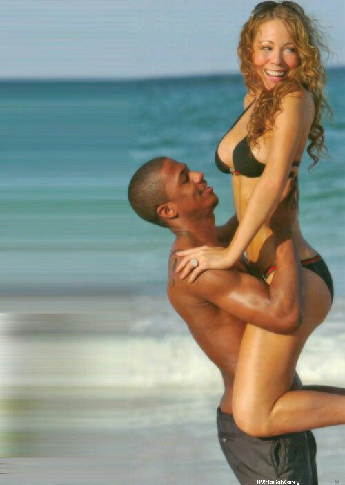 Nick cannon and Mariah Carey | Mariah carey bikini, Mariah ...