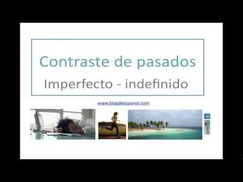 REVISA EL CONTRASTE DE PASADOS CON NUESTROS VÍDEOS