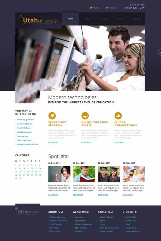 30 Best Education Joomla Templates Joomla Templates Web Design Quotes Joomla