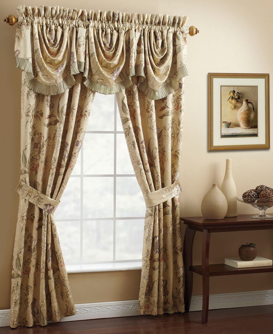 Croscill Iris 50 Quot X 21 Quot Waterfall Swag Window Valance