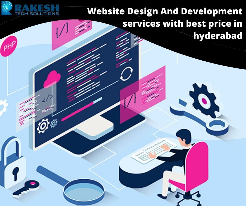 Website Design And Development Services With The Best Price In Hyderabad In 2020 Web Development Design Online Web Design Website Design