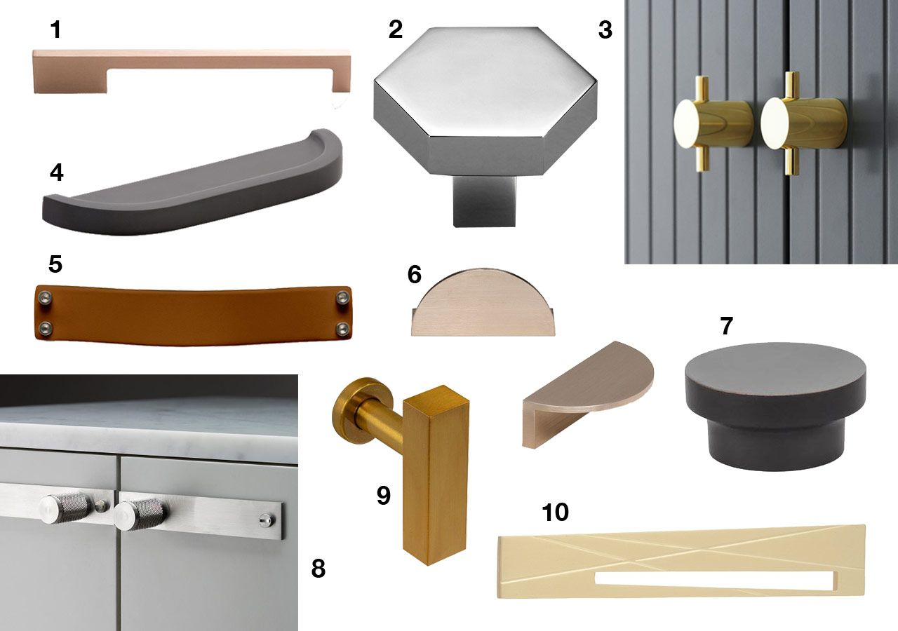 We rounded up 10 modern hardware options both drawer pulls and cabinet knobs that will revamp the look of your cabinets in an instant