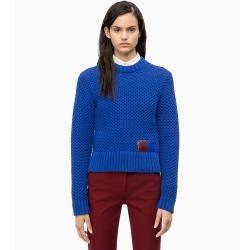 Photo of Calvin Klein Pullover mit Wabenstruktur aus Baumwollmischung L Calvin Klein
